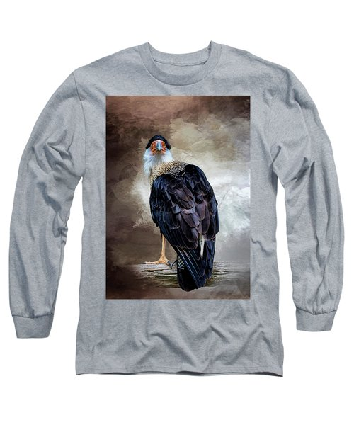 I Have Got  My Eye On You Long Sleeve T-Shirt by Cyndy Doty