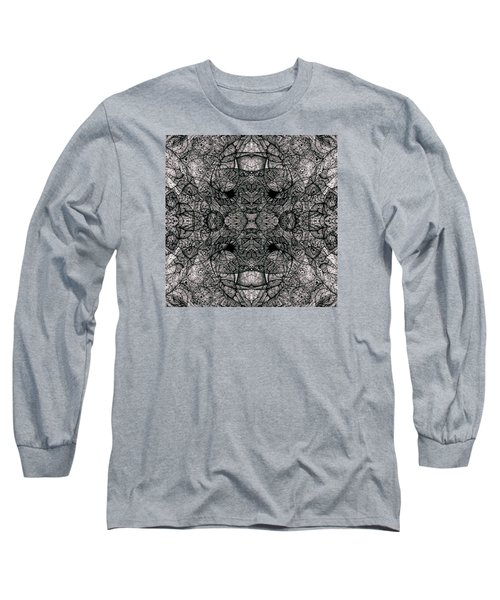 Long Sleeve T-Shirt featuring the drawing I Left All My Chocolate In Pittsburgh  Series by Jack Dillhunt