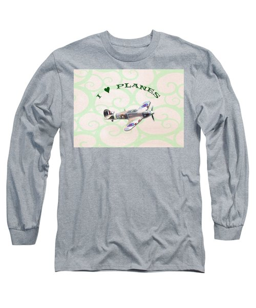 I Love Planes - Hurricane Long Sleeve T-Shirt