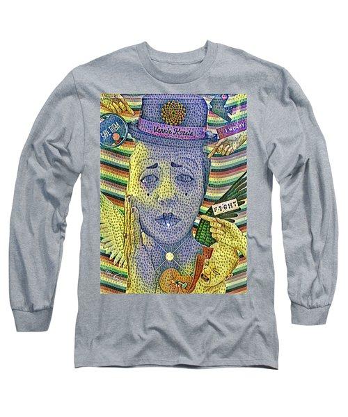I Worry For Them Long Sleeve T-Shirt by Vennie Kocsis