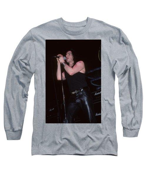 Ian Astbury Of The Cult Long Sleeve T-Shirt