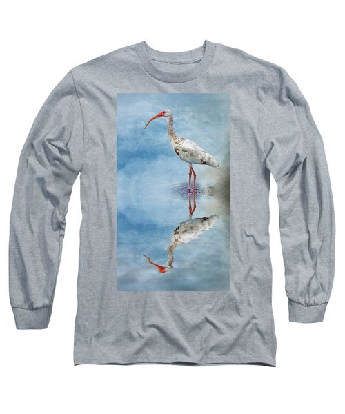 Ibis Long Sleeve T-Shirt by Cyndy Doty