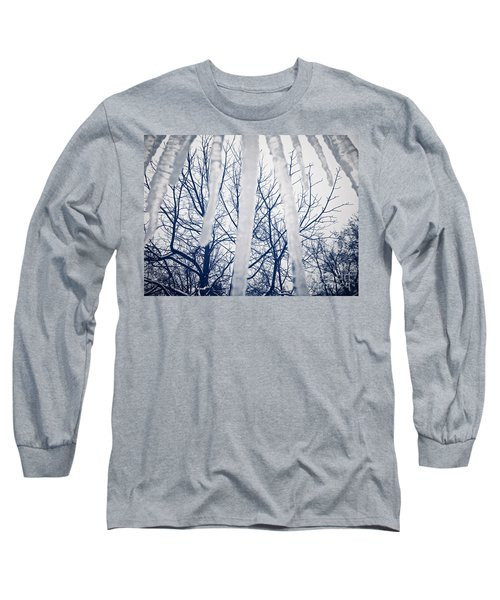 Long Sleeve T-Shirt featuring the photograph Ice Bars by Robert Knight