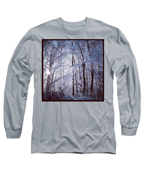 Ice Ladened Forest Long Sleeve T-Shirt