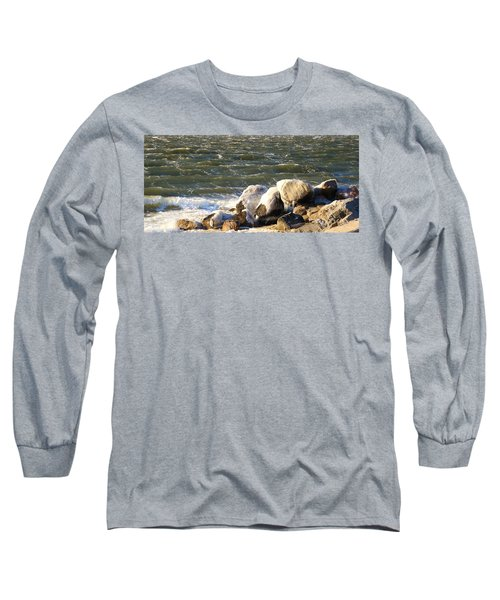 Ice On The Rocks Long Sleeve T-Shirt