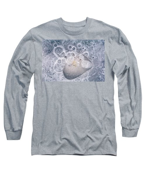 Long Sleeve T-Shirt featuring the photograph Ice Pattern Two by Davorin Mance