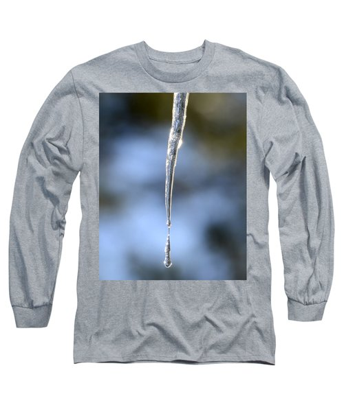 Icicles In Bloom Long Sleeve T-Shirt
