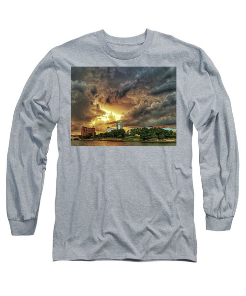 Ict Storm - From Smrt-phn L Long Sleeve T-Shirt