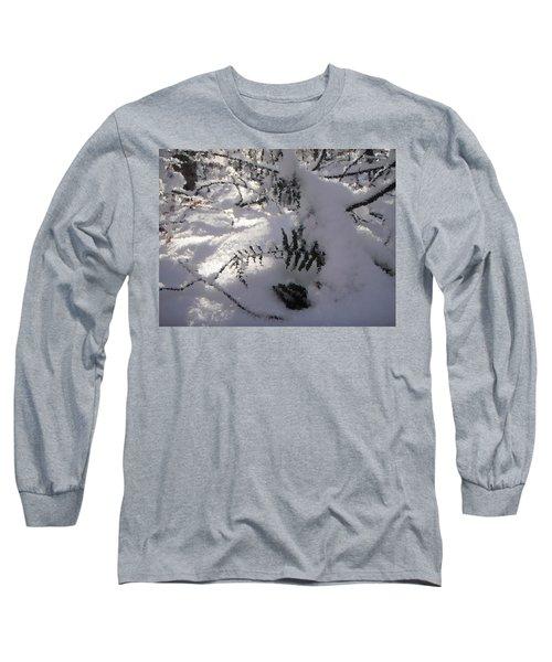 Icy Fern Long Sleeve T-Shirt