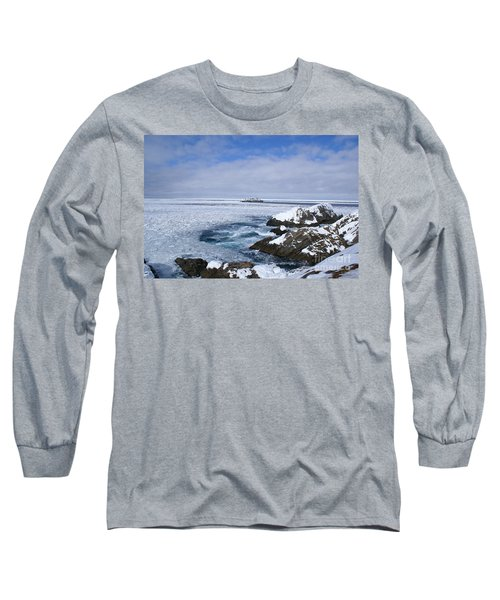 Icy Ocean Slush Long Sleeve T-Shirt