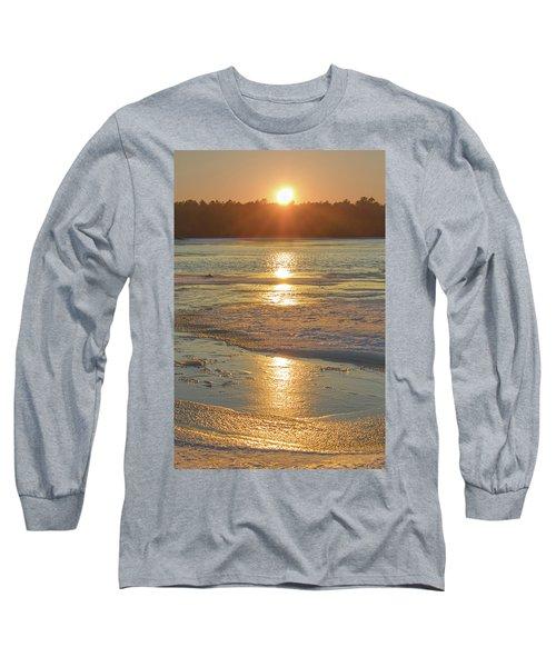 Icy Sunset Long Sleeve T-Shirt
