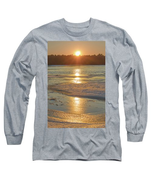 Icy Sunset Long Sleeve T-Shirt