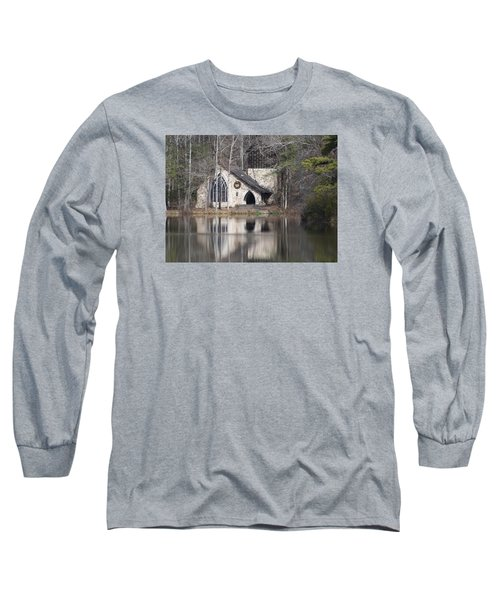Ida Cason Callaway Memorial Chapel Long Sleeve T-Shirt by Linda Geiger