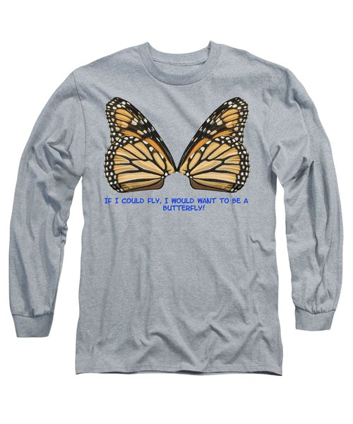 If I Could Fly Long Sleeve T-Shirt by Thomas Young