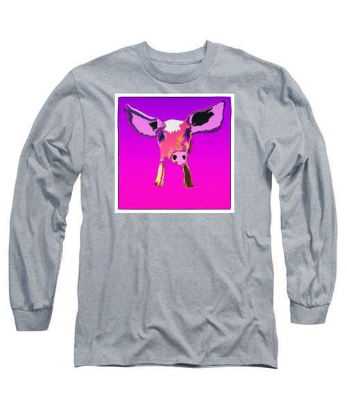 If Pigs Could Fly Long Sleeve T-Shirt by James Bethanis