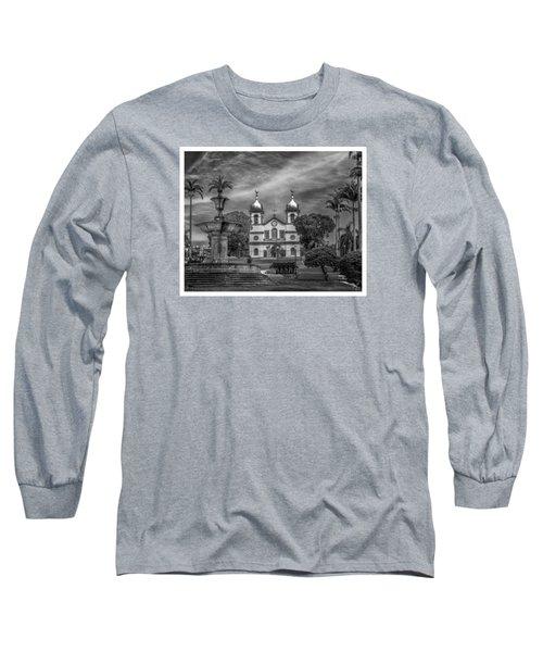 Igreja Da Matriz- Vassouras-rj Long Sleeve T-Shirt