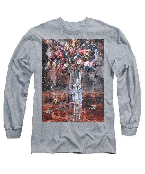 Ikebana Iv Long Sleeve T-Shirt