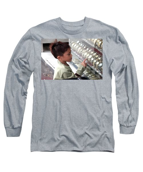 I'll Have The Rolex Long Sleeve T-Shirt by Jez C Self