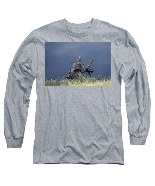Stump Chambers Lake Hwy 14 Co Long Sleeve T-Shirt