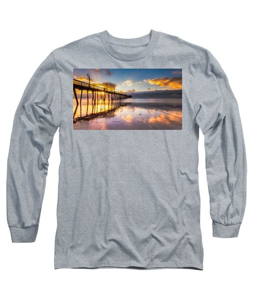 Imperial Burst Long Sleeve T-Shirt by Ryan Weddle