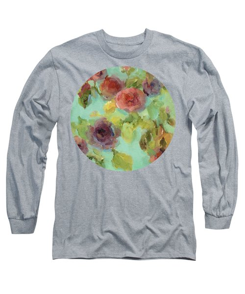 Impressionist Floral  Long Sleeve T-Shirt