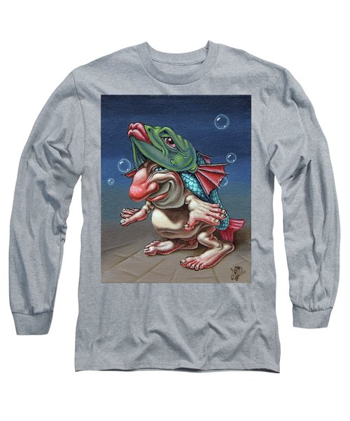 In A Fish Suit. Long Sleeve T-Shirt
