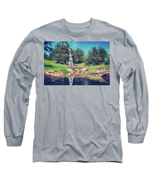 In A Perfect World Long Sleeve T-Shirt by Laurie Search