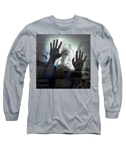 In A Vision, Or In None Long Sleeve T-Shirt by Danica Radman