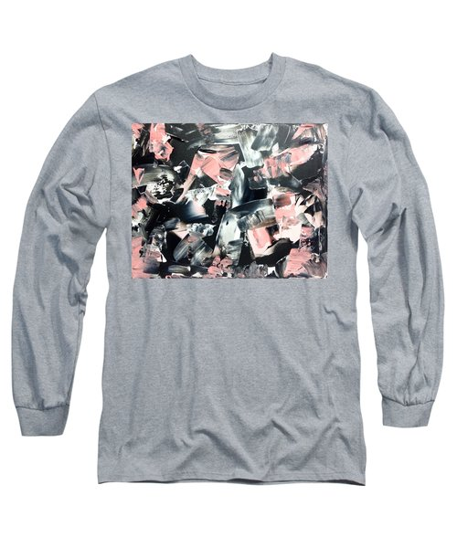 In Abstraction- Pbw No.2 Long Sleeve T-Shirt