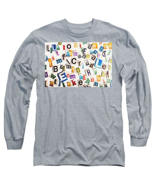 In Clues Of A Riddle Long Sleeve T-Shirt