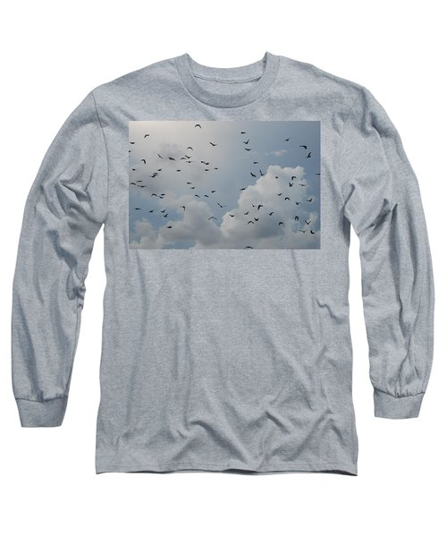 Long Sleeve T-Shirt featuring the photograph In Flight by Rob Hans