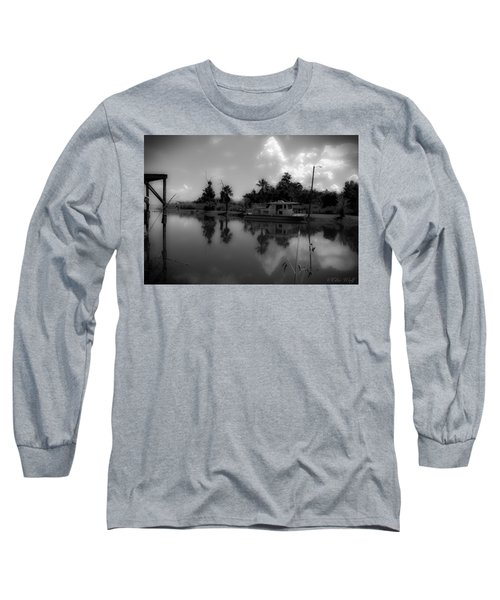 In Florida, A Boat Long Sleeve T-Shirt