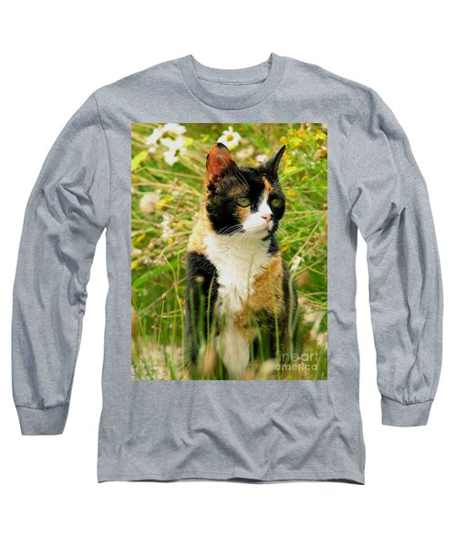 In Her Element Long Sleeve T-Shirt by Rory Sagner
