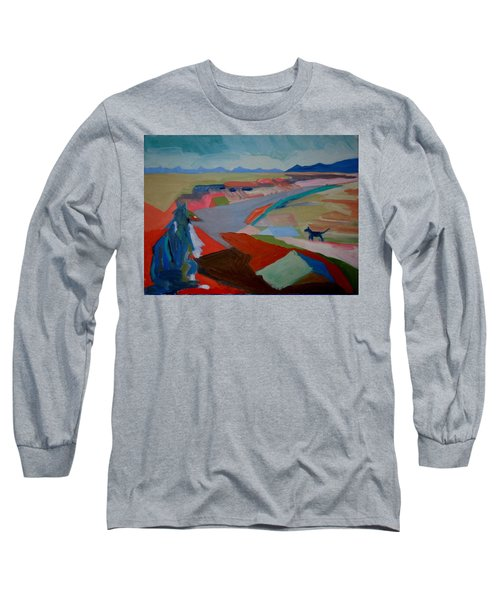 Long Sleeve T-Shirt featuring the painting In My Land by Francine Frank
