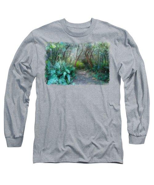In The Bush Long Sleeve T-Shirt by Ivana Westin