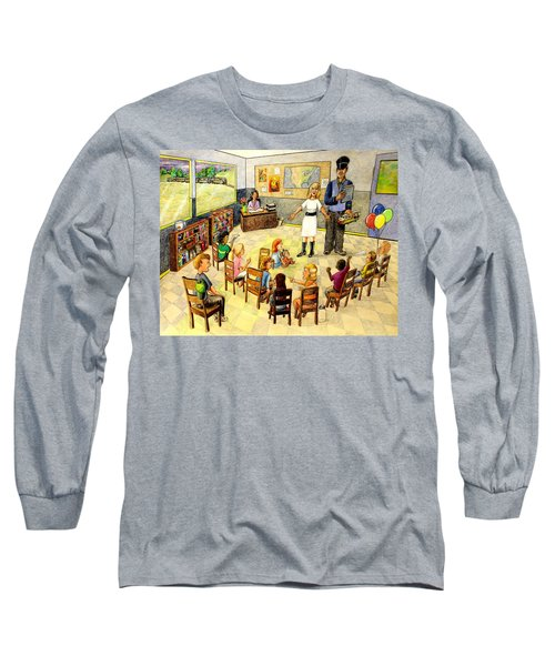 In The Classroom Long Sleeve T-Shirt