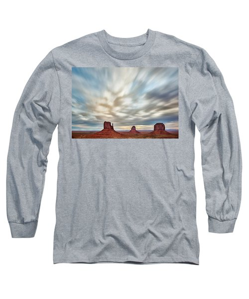 Long Sleeve T-Shirt featuring the photograph In The Clouds by Jon Glaser