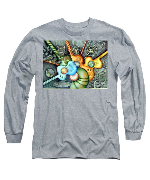 In The Key I See Long Sleeve T-Shirt by Linda Shackelford