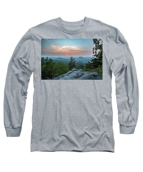 In The Land Of Mesas Long Sleeve T-Shirt by Andreas Levi