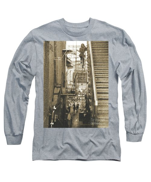 In The Middle Long Sleeve T-Shirt