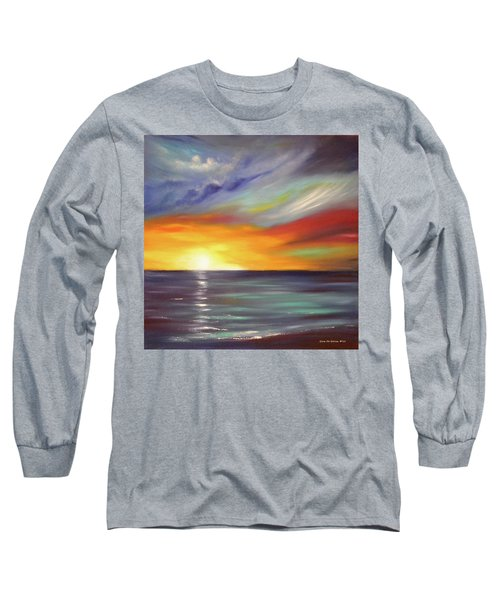 In The Moment Square Sunset Long Sleeve T-Shirt