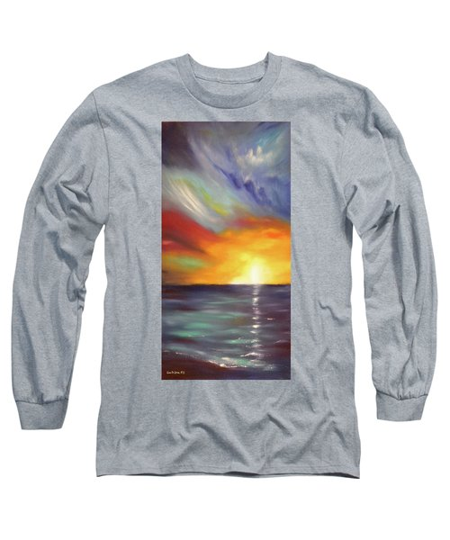 In The Moment - Vertical Sunset Long Sleeve T-Shirt