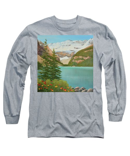 In The Mountain Air Long Sleeve T-Shirt