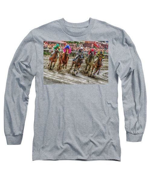 In The Mud Long Sleeve T-Shirt
