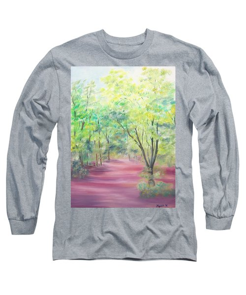 In The Park Long Sleeve T-Shirt by Elizabeth Lock
