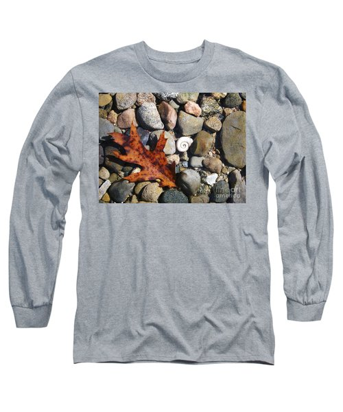 Long Sleeve T-Shirt featuring the photograph In The Shallows by Gerald Strine