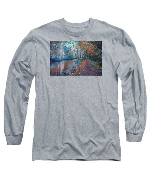 In The Stillness Of The Morning Long Sleeve T-Shirt by John Rivera