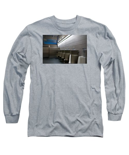 In The Toilet Long Sleeve T-Shirt by Bob Pardue