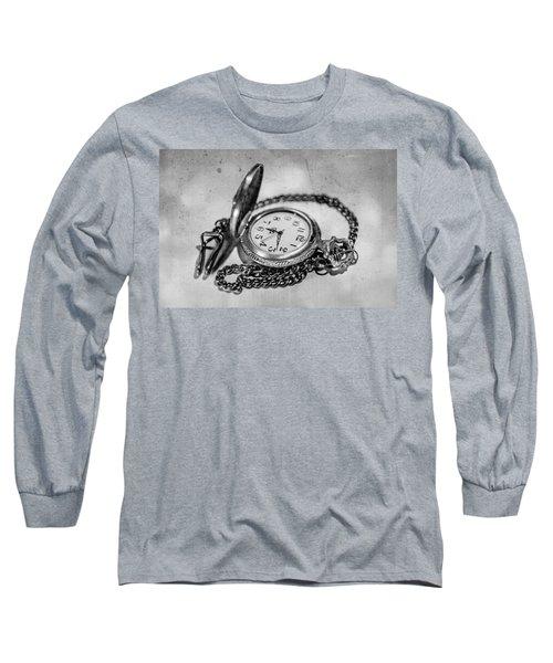In Time Long Sleeve T-Shirt by Martina Fagan