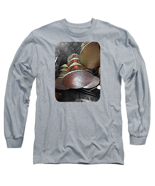 Incense Trays Long Sleeve T-Shirt by Ethna Gillespie